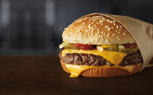 McDonald's commits to using fresh beef burgers in US stores