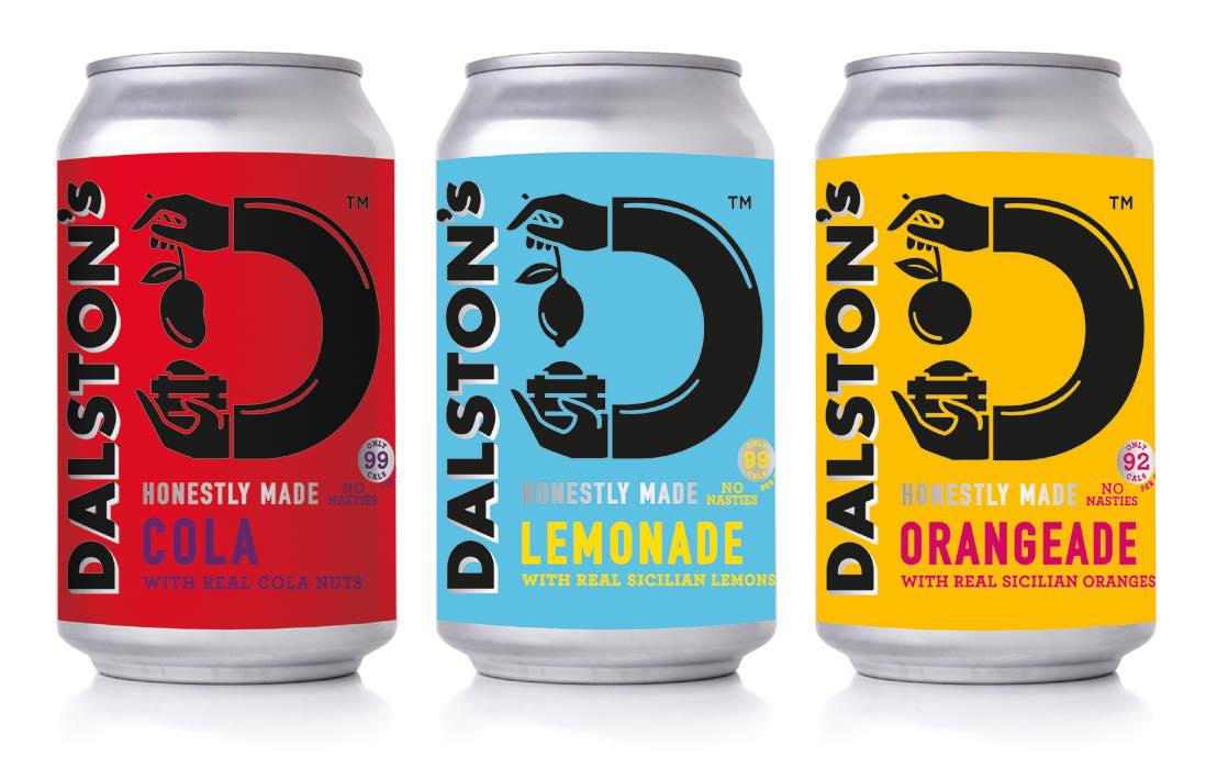 Dalston's craft soda releases low-calorie canned drinks