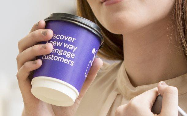 Huhtamaki launches digitally enabled, heat-sensitive cup