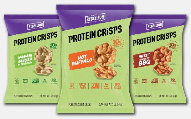 Our Little Rebellion launches range of popped protein crisps