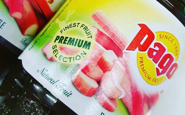 Fruit juice brand Pago launches rhubarb and pear flavour in UK