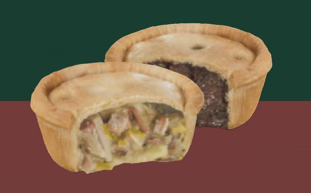 Holland's range of pies goes from freezer to microwave in minutes