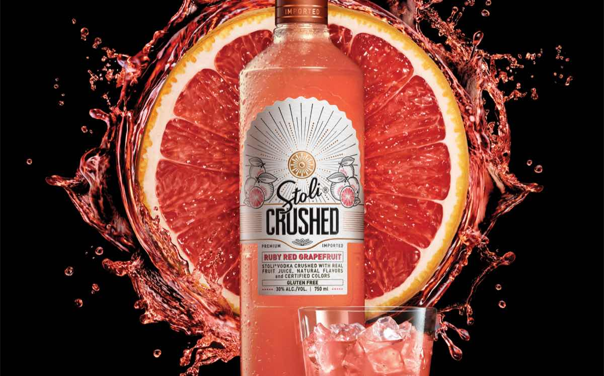 As well as pineapple, there's also a ruby red grapefruit version.