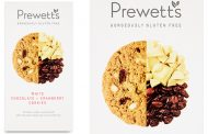 Prewett's set to launch white chocolate & cranberry cookies
