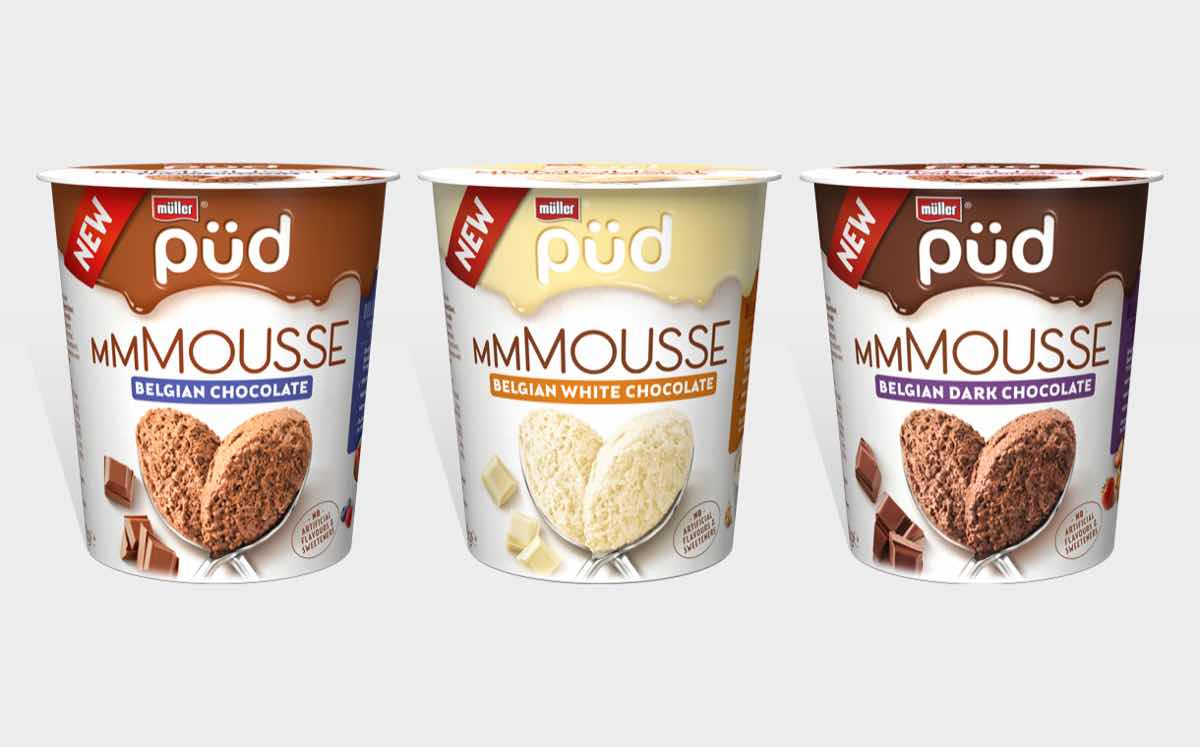 Müller launches first mousses to tap into big pot opportunity