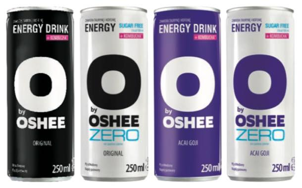 Polish drinks brand Oshee unveils energy line for active consumers