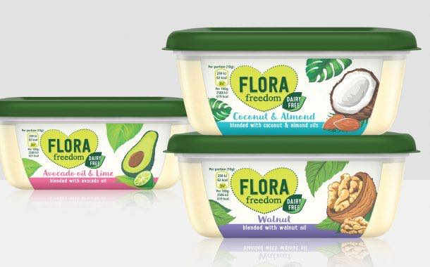 Unilever extends dairy-free Flora range with three new flavours