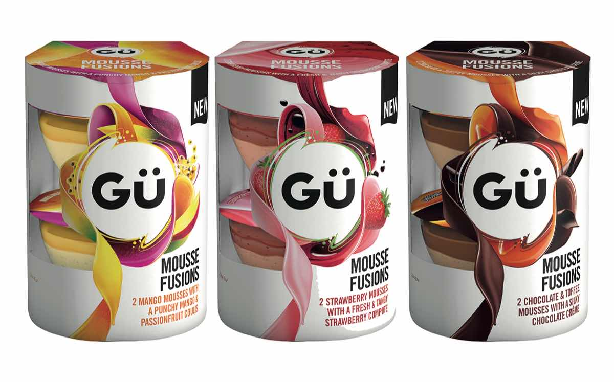 Gü aims to 'redefine the dessert category' with new mousse range