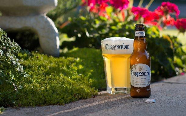 Hoegaarden bottles redesigned to bring 'contemporary twist'