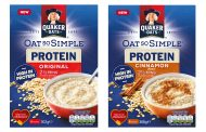 Quaker's Oat So Simple sachets get protein boost this summer