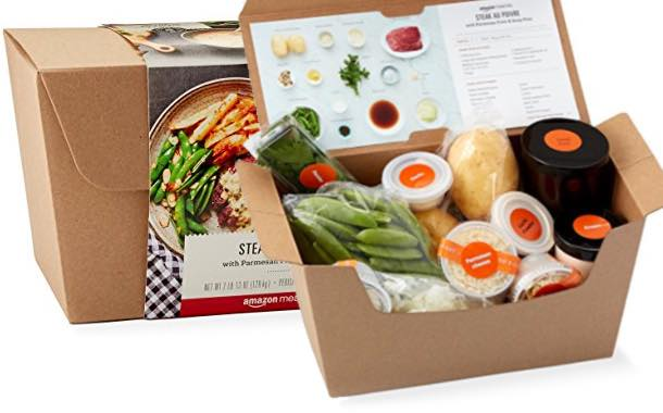 Amazon meal kit delivery in soft launch, media reports suggest