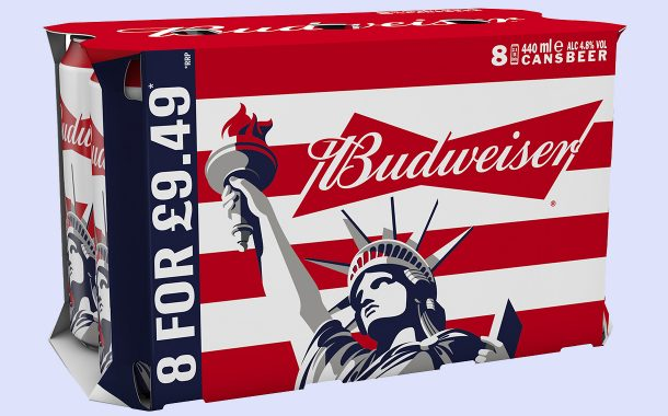 Budweiser launches limited cans to toast the 'freedom of summer'