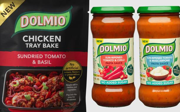 Dolmio unveils chicken tray bakes and no added sugar pasta sauces