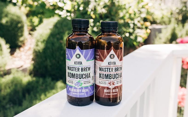 KeVita adds blueberry basil and roots beer to its kombucha line
